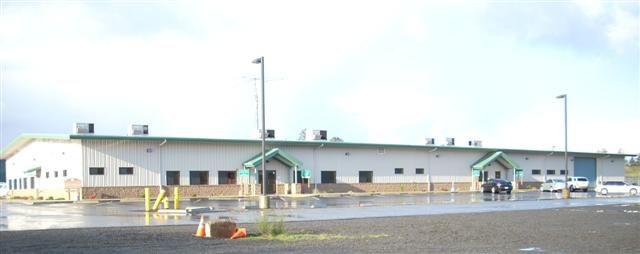 Pacific County Admin Building - Completed Government Project
