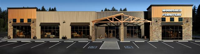 Woodshed Furniture Lacey, Wa - Completed Retail Project