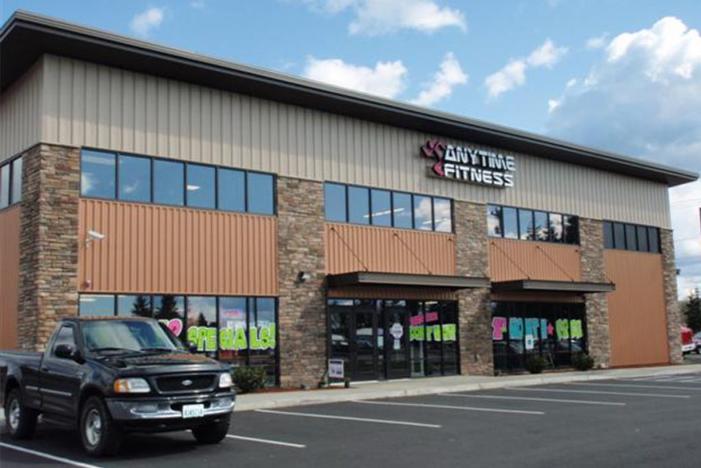 Anytime Fitness, Elma, WA Completed Sports and Recreation Project