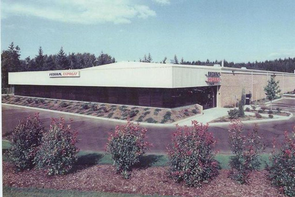 Fed Ex Lacey, WA Completed Industrial Project