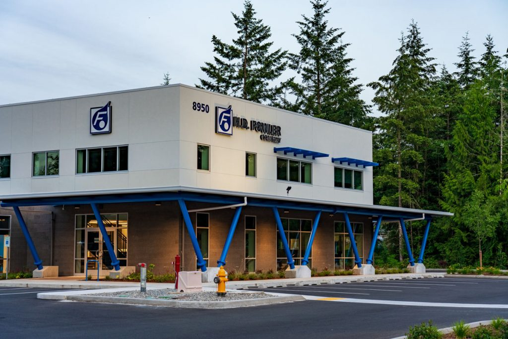 HD Fowler Exterior - Completed Industrial Project