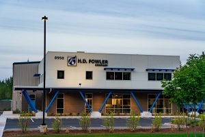 HD Fowler Operations building - Completed Industrial Project