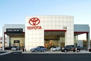 I5 Toyota Chehalis, WA Exterior - Completed Kaufman Project