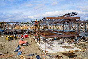 Olympia Orthpaedic Steel Framing - Kaufman Medical Project
