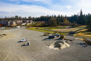 Olympia Orthpaedic Parking lot - Kaufman Medical Project
