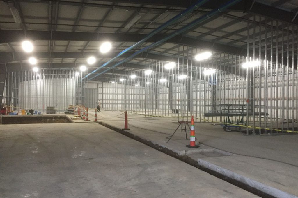 Satsop Facility Warehouse and foundation - Completed Commercial Project