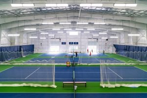 Steamboat Island Athletic Club Tennis Courts Completed Sports and Recreation Project