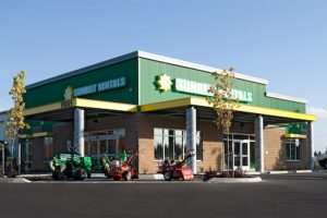Sunbelt Rentals Completed Retail Project