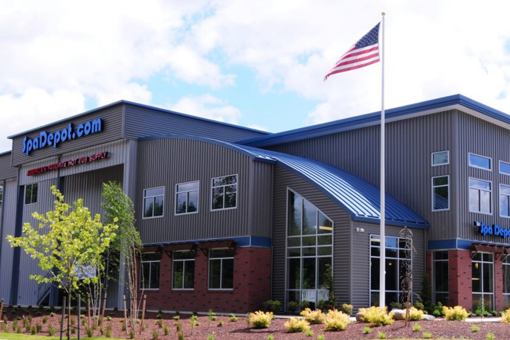The Spa Depot Tumwater, WA Completed Project