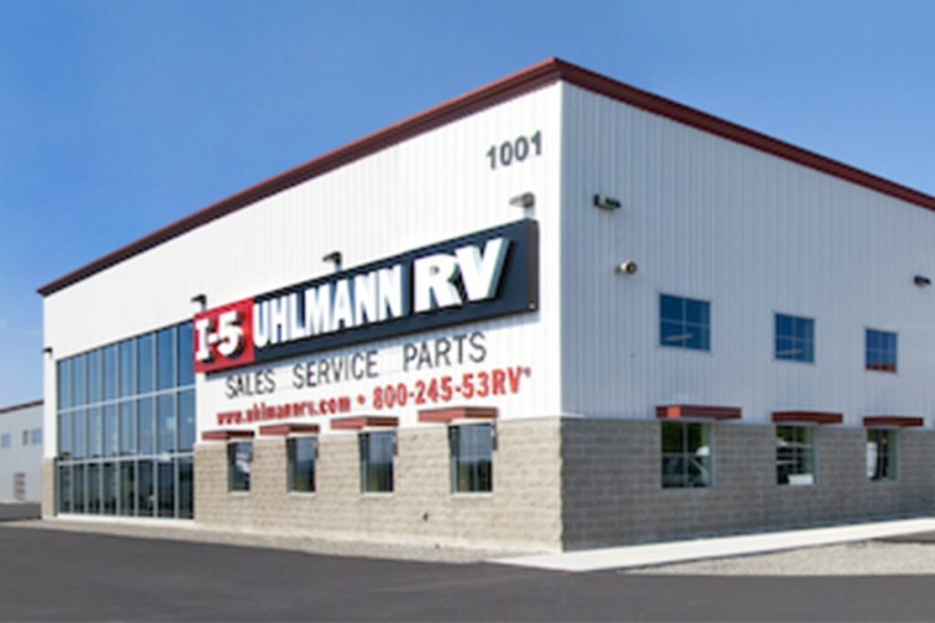 Uhlmann RV Chehalis, WA Completed Kaufman Transportation Project