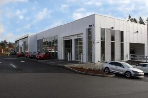Volkswagen of Olympia, WA Service Lot - Completed Project