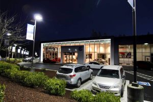 Volkswagen of Olympia, WA Exterior and parking lot - Completed Project